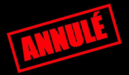 Logo Annulé